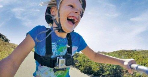 Harnais de fixation enfant GoPro