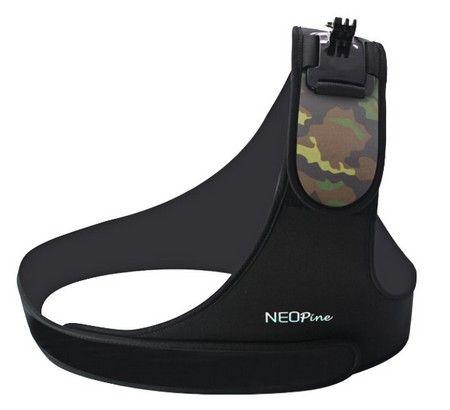 """Harnais de fixation épaule \""""Neopine\"""" pour GoPro"""