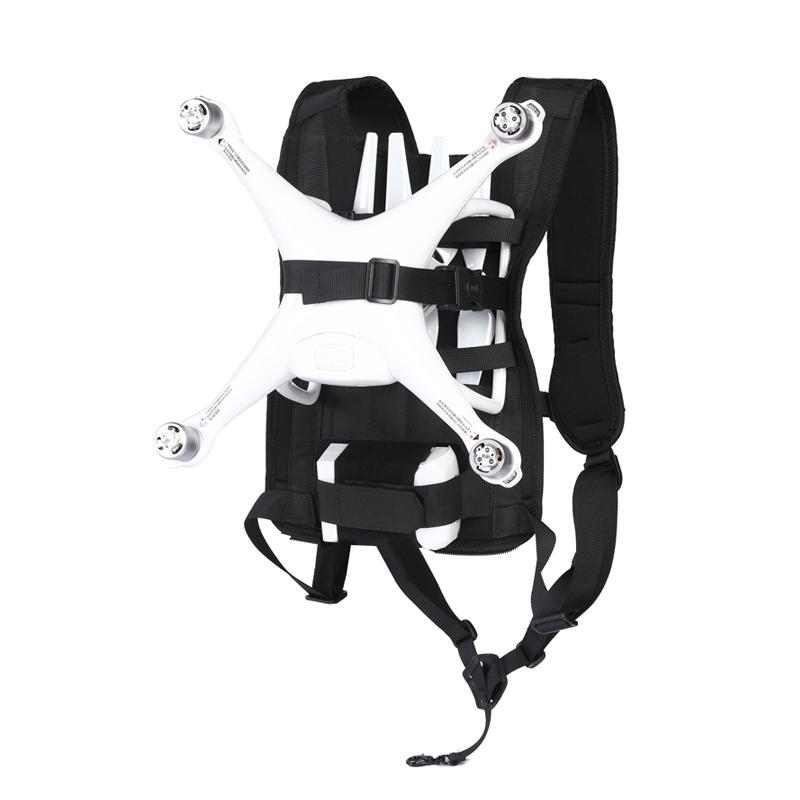 Harnais de transport pour DJI Phantom 4 avec accessoires montés dessus