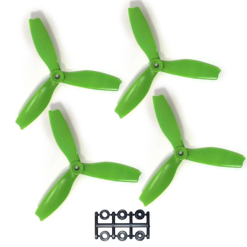 hélices DPS 5X4X3 HQProp Vertes