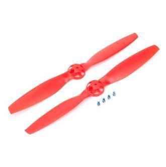 Hélices rouges (1CC et 1CCW) pour Blade 350QX