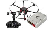 Hexacopt�re DJI S900 + A2 + Zenmuse Z15 Sony Nex