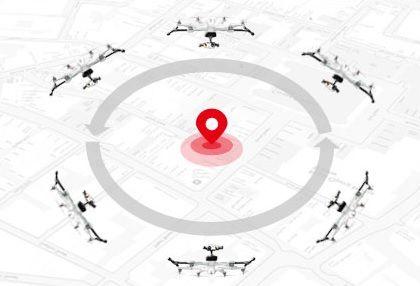 Découvrez les fonctions de vol intelligente, RTH, object round flight disponibles sur le Tali H500 RTF