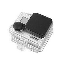 Housse silicone objectif GoPro Hero 3+ avec caisson