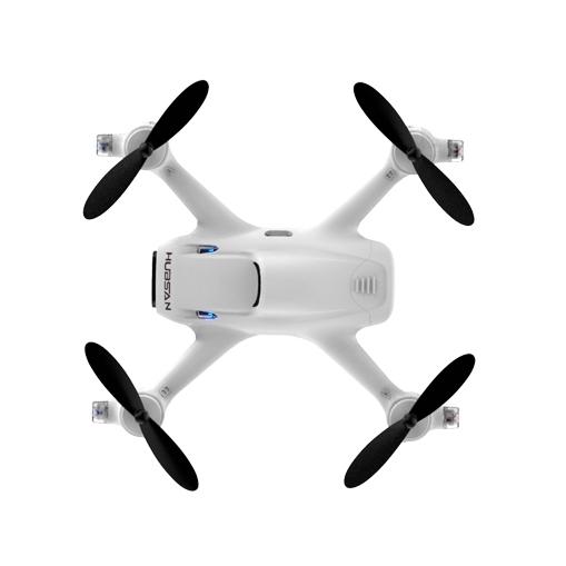 Quadricoptère Hubsan X4 H107C+ vue de haut