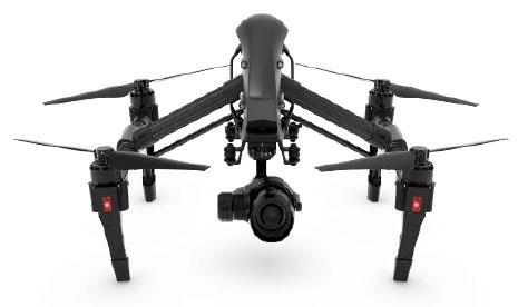 Inspire 1 Pro Black Edition - un drone professionnel taillé pour la production audiovisuelle.