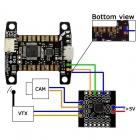 Kiss FC 32bits 1.03 - raccordement MinimOSD