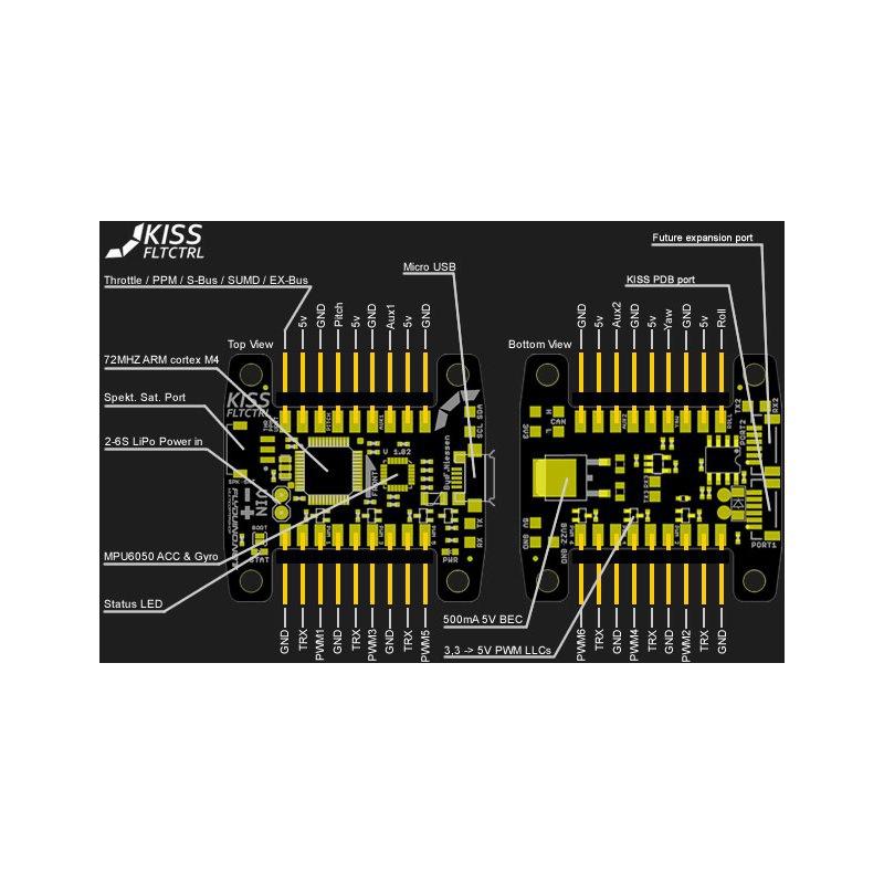 Kiss FC 32bits 1.03 - schéma de raccordement