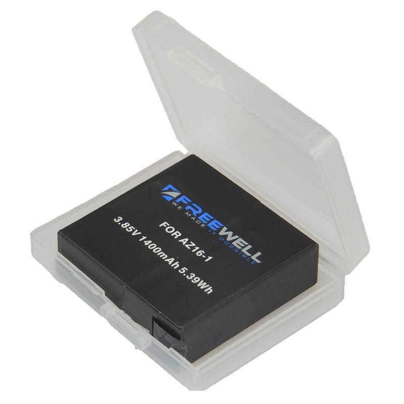 Batterie avec rangement du kit de chargement pour Xiaomi Yi 4K