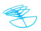 Kit de protection d\'hélices couleur pour DJI Phantom