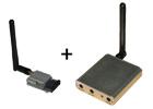 Kit émetteur/récepteur AV 2,4GHz 500mW
