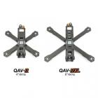 Vue d\'ensemble du drone racer Lumenier QAV-R et QAV-RXL