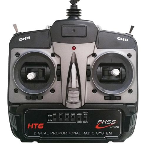 La radiocommande du F210 Overtop Tech