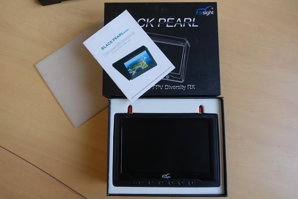 """LCD 7\"""" BlackPearl 5,8GHz - Repackagé"""