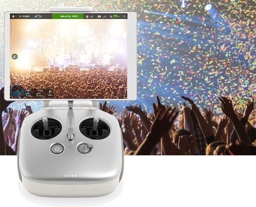 Ce système haut de gamme est idéal pour une utilisation professionnelle: sur drone ou au sol. Cadrez, filmez comme jamais auparavant tout en gardant un contrôle absolu sur votre travail.