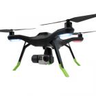 Lot de 4 extensions pieds 3DR SOLO montés sur le drone - vue de biais
