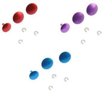 Lot de boutons poussoirs couleur pour Hero 3+/Hero 4