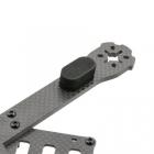 Chassis Lumenier QAV-R - détail du patin en néoprène