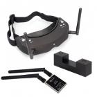 Lunettes Skyzone SKY02S V3 noires + caméra 3D