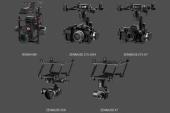 Drone DJI Matrice 600 - nacelles supportées