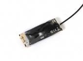Micro récepteur Crossfire TBS - vue dessous - bouton bind