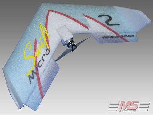 Micro Swift bleu