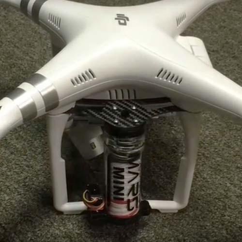 Fixation pour parachute Mars Mini Phantom 3