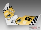 Mini Swift de chez MScomposit Airbrush Line-Retro Yellow