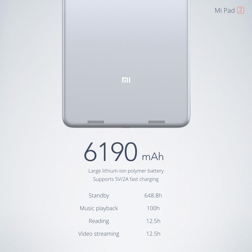 Tablette MiPad 2 16 Go avec batterie 6190 mAh - Xiaomi