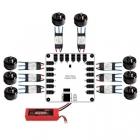 moteur, 8 escs, module, PCB, lipo, drotek, dropix