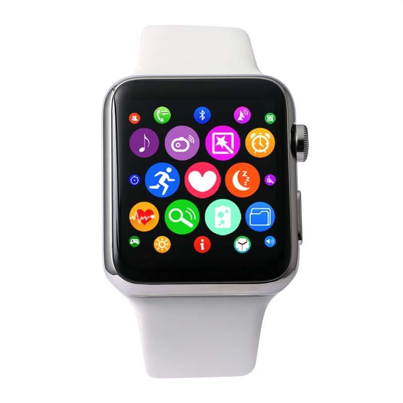 L'interface de la montre intelligente DM09 à la façon Apple Watch
