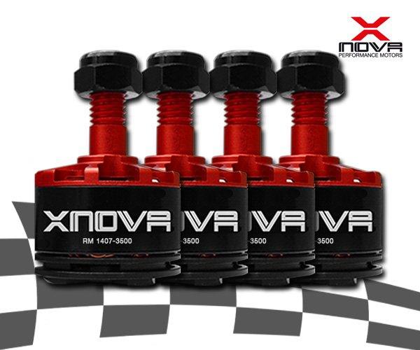 Moteurs Xnova 1407 3500Kv - Boite de 4