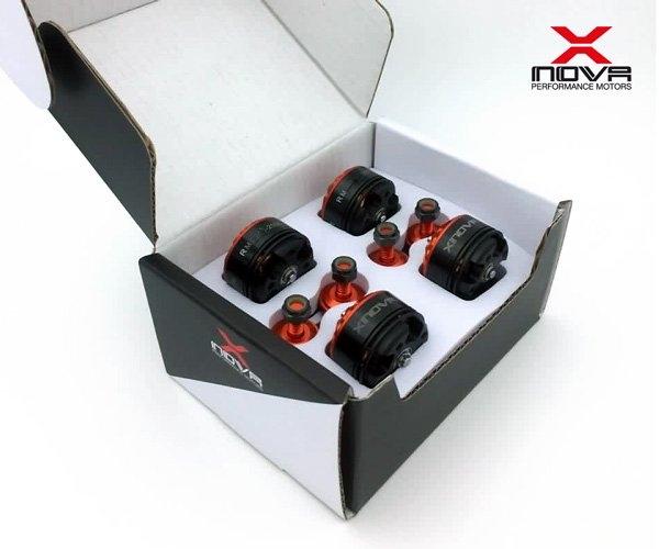Moteurs Xnova 1806 - 2300Kv vendu par 4 dans une boite