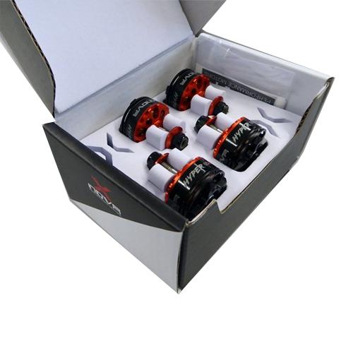 Moteurs Xnova 2205-2600Kv - Boite de 4