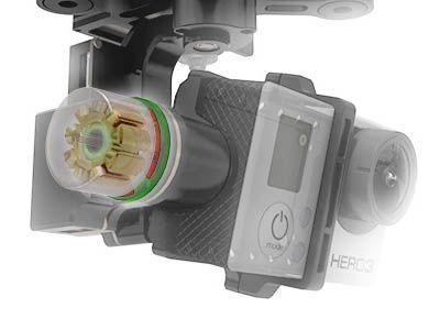 Nacelle 3axes DJI Zenmuse H3-3D V1.1 pour Phantom2