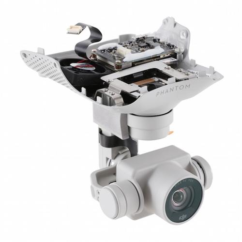 Caméra 4K pour DJI Phantom 4 vue en perspective