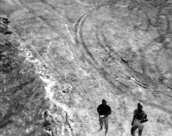 Photo aérienne prise depuis la nacelle Feiyu FG