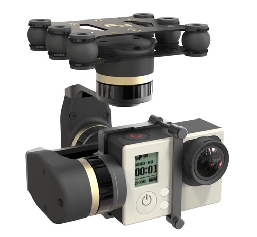 Nacelle Feiyu Mini 3D pour GoPro Hero 3/3+ et 4
