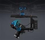 Schéma de la nacelle main stabilisateur DJI Ronin-MX avec indication des angles moteurs