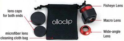 Objectif Olloclip pour iPhone 5