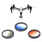 Cet ensemble de filtres gradués vous donnera des résultats très professionnels sur vos photos aériennes réalisées avec le drone Inspire 1 ou sur Osmo.