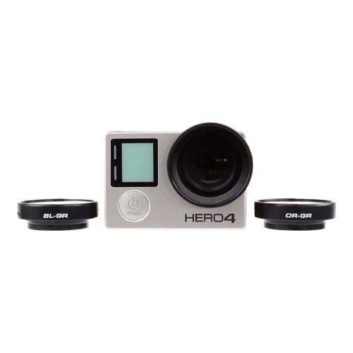 Filtres gradués PolarPro montés sur une GoPro Hero4