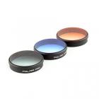Pack 3 filtres gradués pour Phantom 3/4 Polar Pro