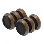 Ce pack de 6 filtres PolarPro Cinema Series rassemble les collections Vivid et Shutter.