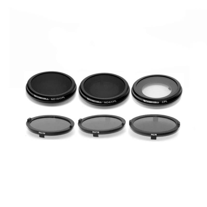 6 filtres correcteurs pour caméra Yuneec CGO3