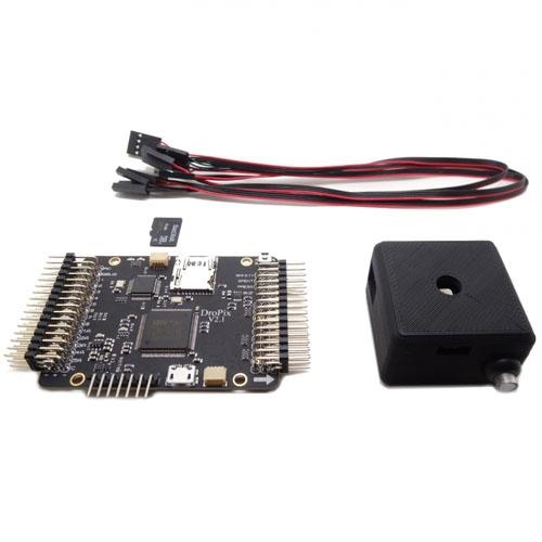 Autopilote contrôleur de vol DroPix avec carte mémoire, câbles servos et module all in one