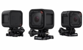 Pack Caméra Embarquée Chasse GoPro Hero Session et Bandeau Frontal vue sous 3 angles