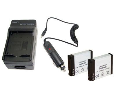 Pack chargeur + 2 batteries pour cam�ras GoPro HD et GoPro HD Hero 2 - photo 1
