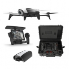 Pack complet: Bebop 2, Skycontroller, valise �tanche � roulettes et batterie 2700 mAh - version blanche