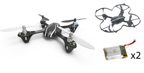 Pack d�couverte Hubsan X4 V2 (H107L) par studioSPORT - photo 1